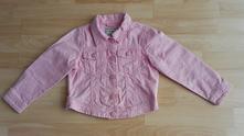 Růžová džínová bunda & bundička next vel. 104, next,104