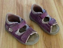 Celokožené sandále, superfit,22