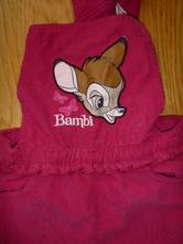 Zateplené manžestrové lacláče bambi vel. 86, c&a,86