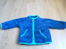 Chlupatá modrá mikinka, ergee,74