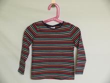 Dívčí tričko s proužky, c&a,98