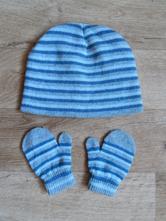 Set čepice a rukavice, 86