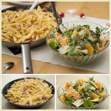 Těstoviny carbonara s chorizem a katalánský salát - Jamie Oliver 15 minut v kuchyni