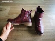 Krasne zateplene kotnikove boty vel. 32 - 19,7cm, nelli blu,31