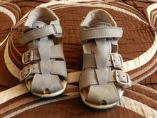 Boty sandálky modré 25, essi,25