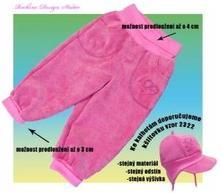 Dětské kalhoty rockino růžové, 538_6938 , rockino,74 / 80 / 86 / 92 / 98