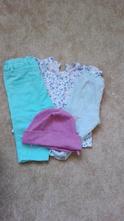 Set kalhoty, tričko, čepice,