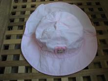 Letní klobouček s chráněním zátylku vel. 52-54,