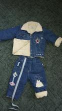 Zimní kalhoty s bundou 68- 74, 68