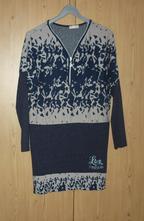 Béžovo-modré šaty / tunika italia moda, m