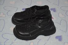 29 30 společenské černé boty polobotky, 29