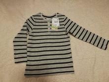 Nové tričko c&a s visačkou - biobavlna, vel. 122, c&a,122