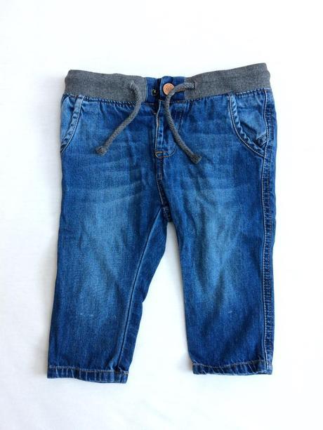 Riflove kalhoty 6-9 mes, zara,74