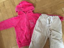 Mikina a kalhoty vel. 92, h&m,92
