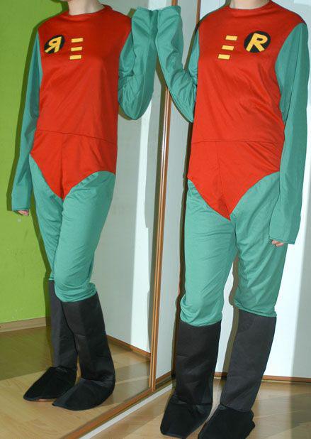 Karnevalový kostým robin corset,