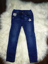 Zdobené džíny 110-116, palomino,110