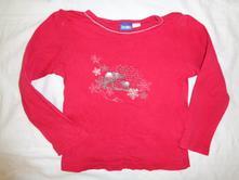 Krásné červené tričko se slonem pro štěstí, lupilu,110