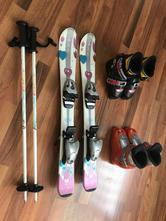 Set pro malou začínající lyžařku,
