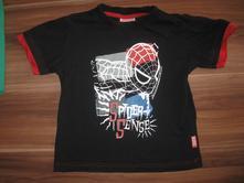 Černé tričko, marvel,110