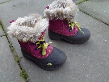 Zimní dívčí boty eu 29,5 zn.north face, 29