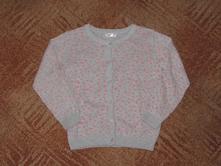Dívčí svetřík se srdíčky vel. 116, pepco,116