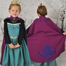 Šaty elsa 1 z ledového království - různé vel., 98 - 140