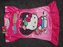 Letní šaty/pyžamo hello kitty - vel.3-4 (11), 98 / 104 / 110