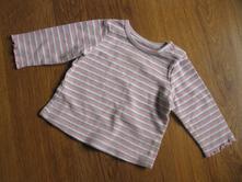 Pruhované triko, mothercare,68
