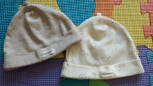 Bavlněné čepičky, h&m,68