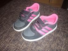 Dívčí botasky, adidas,27