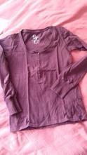 Vínové tričko, primark,m