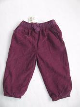 Podšité manšestrové kalhoty, george,74