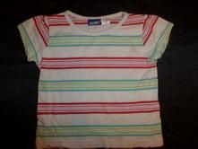 Pruhované tričko s krátkým rukávem, lupilu,86