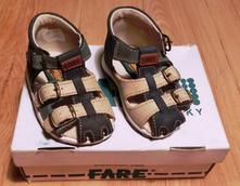 Nové zdravotní kožené sandálky fare vel. 18, fare,18