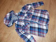 Flanelová košile s kapucí, george,98
