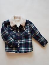Frajerská vyteplená košile - mikina, f&f,86