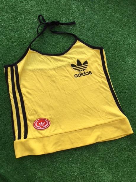 Žlutý top zn.adidas, adidas,m
