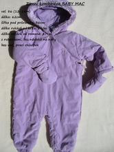 Zimní kombinéza s rukavicemi baby mac, baby mac,86