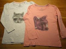 2x dívčí triko, lupilu,98