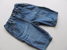 Dětské riflové kalhoty č.238, h&m,62