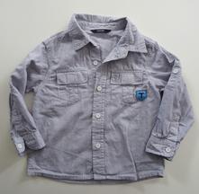 Frajerská košile s roll up rukávy, george,98