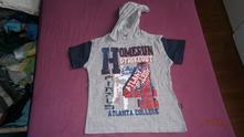Tričko s kapucí vel.116, okay,116