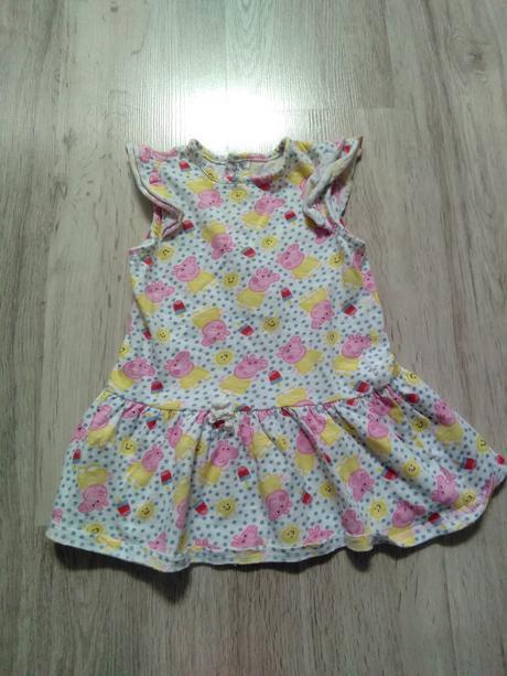 Šaty peppa pig, mothercare,98