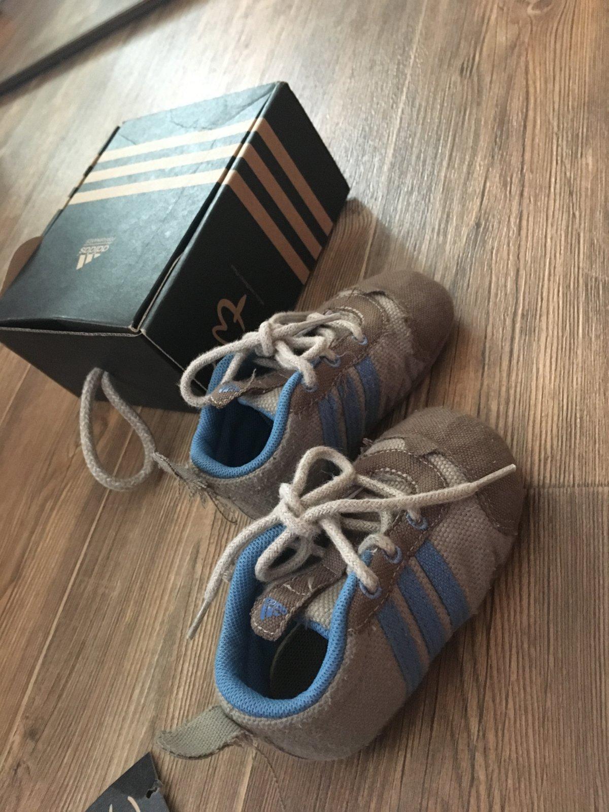 e92c4b73b39 Adidas chlapecké první botičky