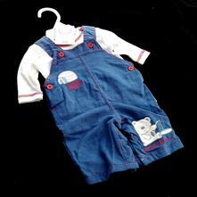 Kalhoty s laclem a tričko,  sou-0067-02, 62 / 74