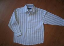 Pruhovaná košile vel. 4-5 let, bhs,110
