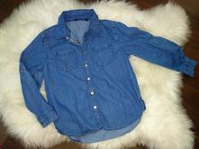 Džínová košile 122-128, 122