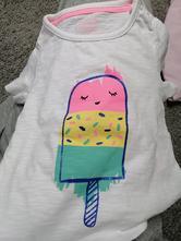 Nove tričko f&f, velikost 74,6 až 9 měsíců,, f&f,74