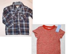 Ao3 košile + bf94 melírované tričko s kapsičkou, 86