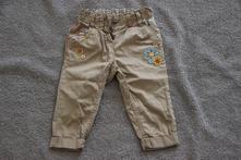 Plátěné kalhoty next, 9-12m, next,80